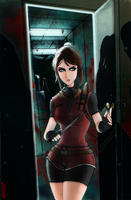 Centerstage- #6 Claire Redfield by Dane-of-Celestia