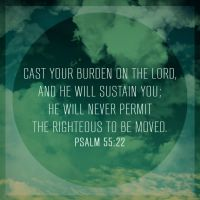 Psalm 55:22 by Xiphos71