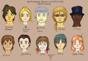 Formspring Faces by stickfigureparadise