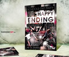 The Happy Ending - Flyerdesign by razr-designs