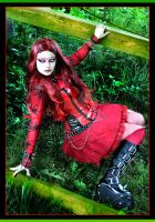 Lady In Red 2 by LadyDeathDemon