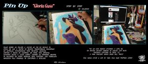 pin up step by step Gloria Guss by celaoxxx