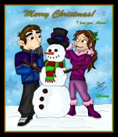 Christmas 2007 by Dinogaby