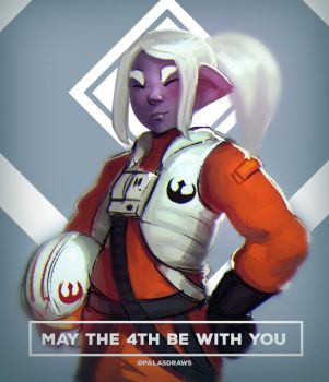 May the 4th be with you by Kanji2