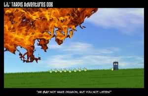 Lil' TARDIS Adventures 006 by DrOfDemonology