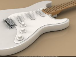 Stratocaster - WiP2 by Th3-ProphetMan