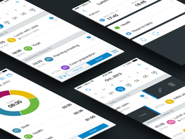 First concept for Schedule Planner by ifeell