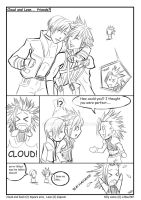 RE4FF7: Leon and Cloud by DarkLitria