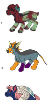 Chimera Creature Adopts - Adopted by Feralx1