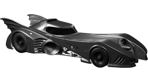 '89 Batmobile - Right Side by garyjsmith