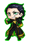 Loki Badge by Pon3Splash
