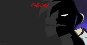 Clint Eastwood - Gorillaz desktop background by Sniperisawesome