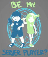 Be my server player by Shikana