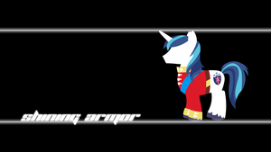 Shining Armor Wallpaper by Alexstrazse