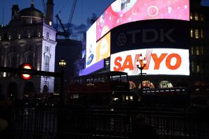 Piccadilly Circus by puppeteerHH