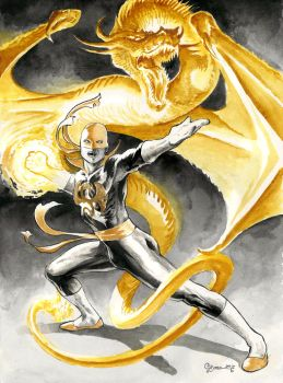 Iron Fist by DanielGovar