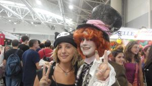 Me and the Mad Hatter Romics by Kalix5