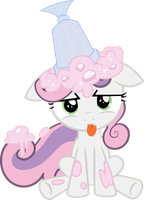 Sweetie Belle's Hat by Ghandiddi