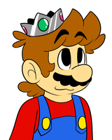 Mario wants to be a princess by raygirl12