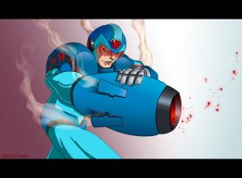 Mega Man by BrokeJonez