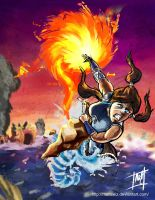 The Legend of Korra by mattcrossley