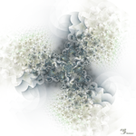white abstract by innac