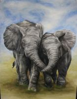 Elephants Finished by FatCatDesigns