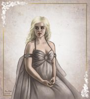 Daenerys Targaryen by Kittensoft