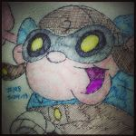 Napkin Art 198 - Numbuh 2 - Kids Next Door by PeterParkerPA