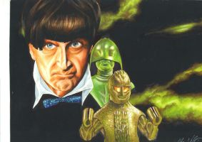 The Ice Warriors- The 2nd Doctor by Hognatius