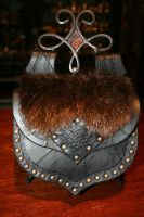 Barbarian Belt Pouch 2 by Damiane