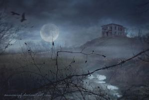 Dark Mansion by annewipf
