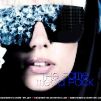 Lady Gaga The Fame Mega Pack by DiegoMonster