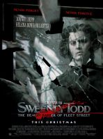 Sweeney Todd poster - Mirror by l30