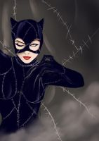 Catwoman by Ethevian
