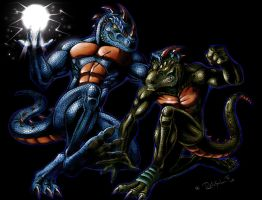 Blood Feud by All-Crazy-Reptiles