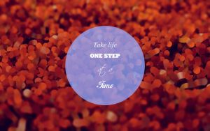 take just one step_wallpaper version by fukm