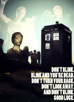 Weeping Angels - Don't Blink by lieutenantsubtext