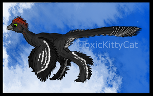 Anchiornis by ToxicKittyCat