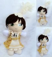 Plushie Prize! Alan Humphries Opera Disguise by LadyoftheSeireitei