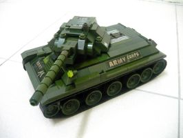 T-34 Russian WWII Medium Tank 3 by SOS101
