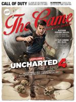 UNCHARTED 4 - The Game Magazine cover by RUIZBURGOS