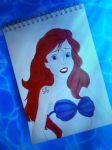 Ariel (The Little Mermaid) by JabberjayArt