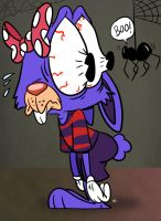 SLATEBR-Spider Sensed and Tingling by spongefox