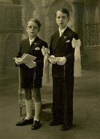 Two Boys' First Communion by millesime