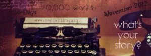 Facebook Cover: [NaNoWriMo #4] by breezybealle