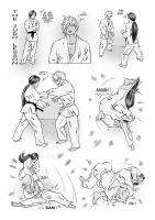 The Judo Lesson - I by Cloudyfan