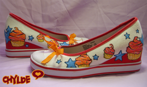 Freshly Baked Cupcake Shoes by Chylde