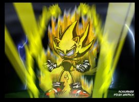 Classic Super Sonic Anger by sonicman88
