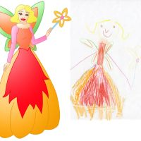 child's drawing gone Disney 43 by Willemijn1991